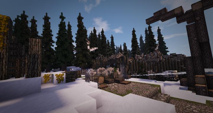The village Southpaw of KingWars Blackrun