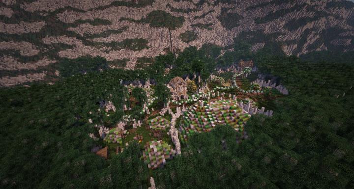 The village of Winged Hills in KingWars Era