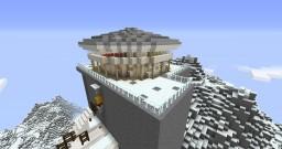 Mountain Restaurant Piz Gloria from On Her Majesty's Secret Service Minecraft Project