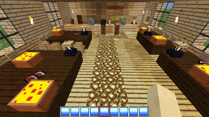 Work At A Pizza Place Minecraft Project