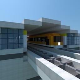 Incheon Maglev train Minecraft Map & Project