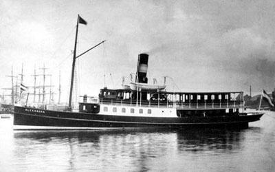 DS Alexandra in Flensburg