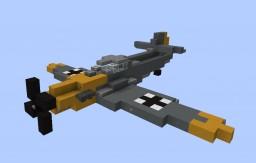 Messerschmitt Bf 109 E-3 | by arbuz36 | Aliquam Minecraft Map & Project