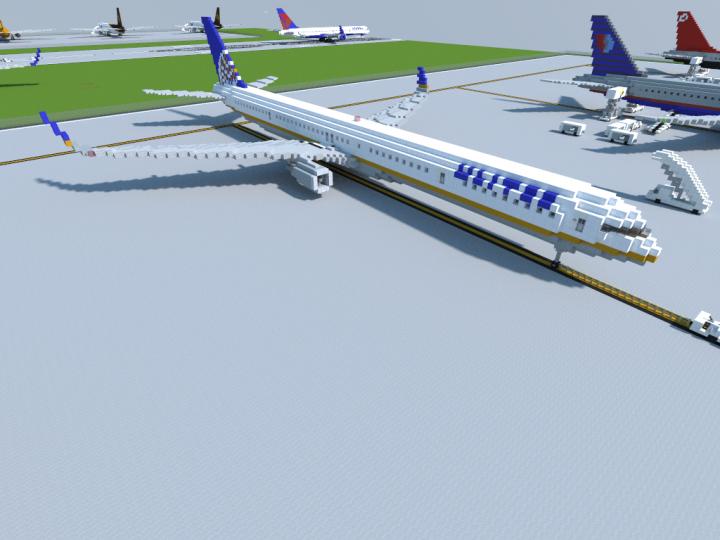 United Merger Livery 757-300