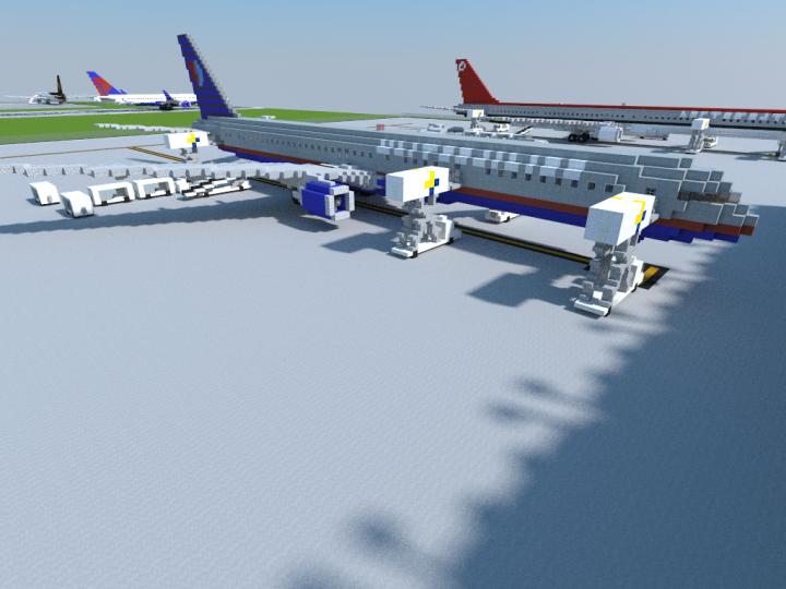 United Airlines BattleShip Gray
