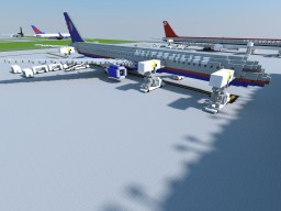 Boeing 757 Series | Liveries | +Download! Minecraft Map & Project