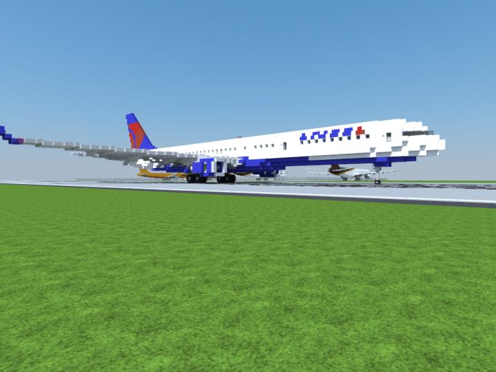 Delta Airlines 757-200 Landing