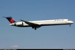 McDonnell Douglas MD-90 (Delta Airlines) Minecraft