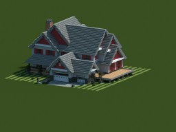 Country Home! Schematic+Download   [POP REEL] Minecraft Map & Project
