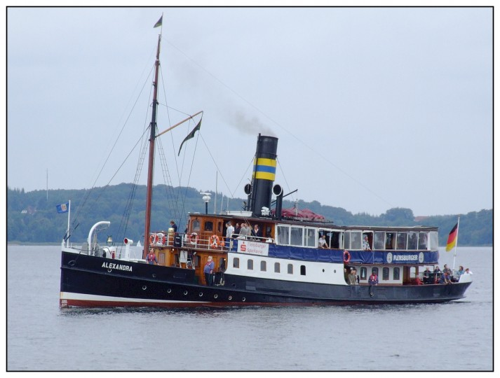 DS Alexandra in Flensburg a new picture