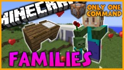 Families in One Command l Get Married and Have Kids! Minecraft Map & Project