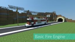 Basic Fire Engine [v2] Minecraft Map & Project