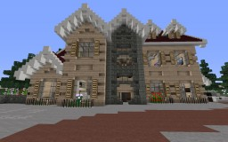 Traditional Mansion Minecraft Map & Project