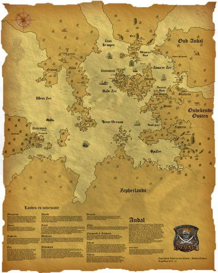 The complete server map