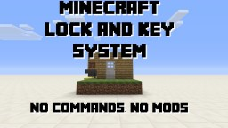 Lock&Key / Password System for Doors, Pistons, etc. Minecraft Blog