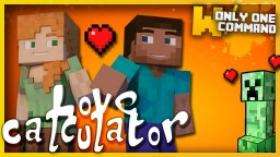 Love Calculator with only two command blocks Minecraft Map & Project