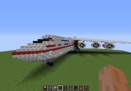 Antonov 225/Antonov 500 (2012) Minecraft Map & Project