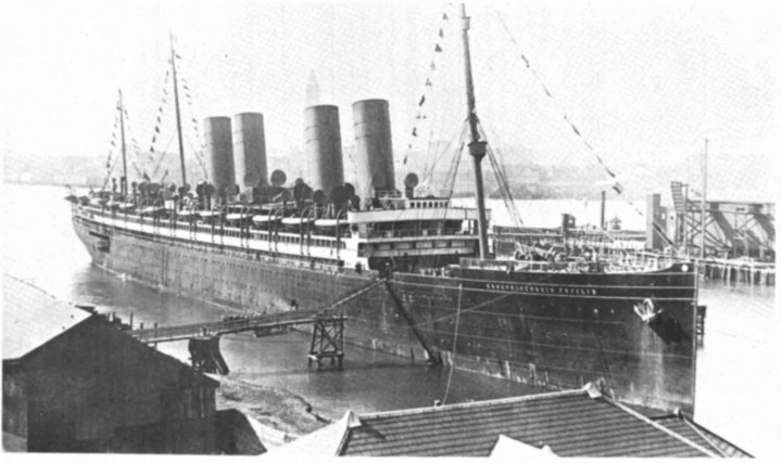 SS Kronprinzessin Cecilie in Real