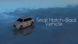 Small Hatch-Back Vehicle Minecraft Map & Project