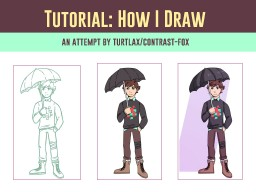 Tutorial: How I Draw Minecraft Blog Post