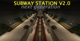 Underground Subway/Metro Station V2.0 NEXT GEN (w. 2 metro lines) 4 DIRECTIONS!!!!!! Minecraft Map & Project
