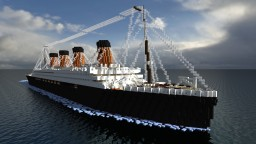 Titanic II [1:1 Scale][Clive Palmer] Minecraft Map & Project