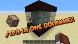 /tpa in One Command Minecraft Map & Project