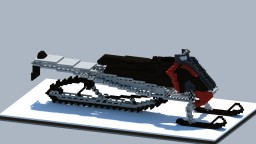Giant Snowmobile in Minecraft