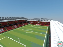 [EPL] Liverpool - Anfield Minecraft Map & Project