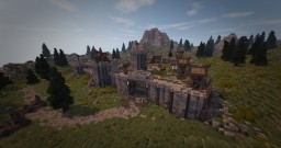 Skyrim inspired Fort [World of Targur] Minecraft Map & Project