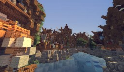 "Minecraft Medieval City ""Glaciem"" - DOWNLOAD"