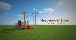[1.7.10][FORGE] Monoblocks - Signs, Fences, Blocks, and much much more Minecraft Mod