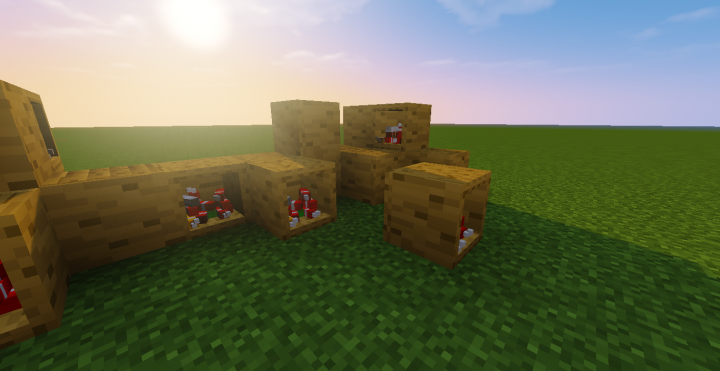 Crates with Dynamite