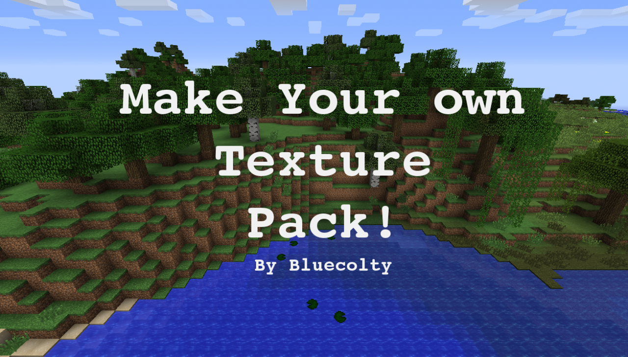 make your very own texture pack  minecraft blog