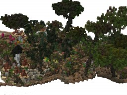Fogwood | handmade terrain/village | #WeAreConquest Minecraft Map & Project