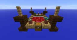 King Sized Bed Minecraft Furniture Minecraft Project