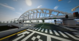 Lyra Ravenskill Bridge | Metro Bridge | ECS Minecraft Map & Project