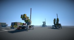 MAN KAT1 MIM 104 Patriot Surface to Air Missile (SAM) Truck Minecraft Map & Project