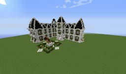 Mansion + statue of a dog Minecraft Map & Project