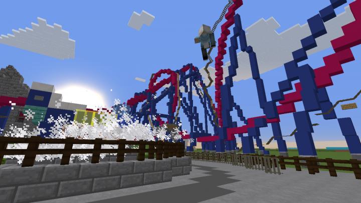 Banshee! The worlds longest Inverted roller coaster!
