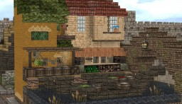 River Market Plot Build[16x16] Minecraft Project