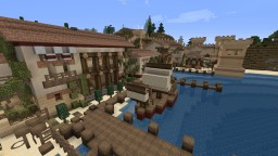 RomeCraft city of Salona Minecraft