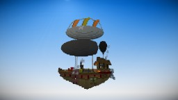 Small abode in the sky Minecraft