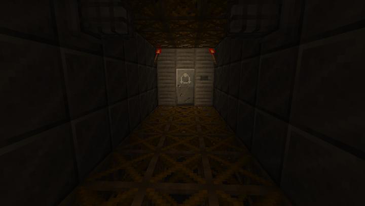 Metal Hallway