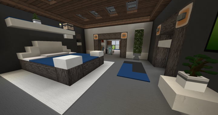 Bedroom Interior Design 1 Minecraft Project