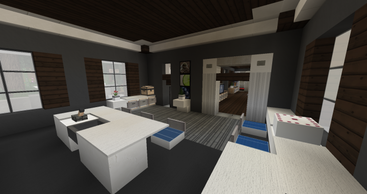Small Kitchen Interior Design 1 Minecraft Project