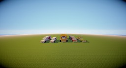 Vehicle Pack 2.0 Minecraft Map & Project