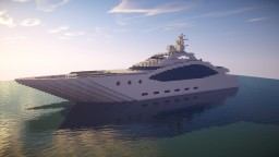 Cigno | Modern Yacht Minecraft