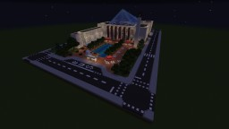 City Hall Edmonton (Spawn Building) Minecraft Map & Project