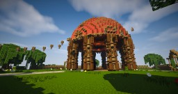 New Serverspawn || Serverhub Minecraft Project